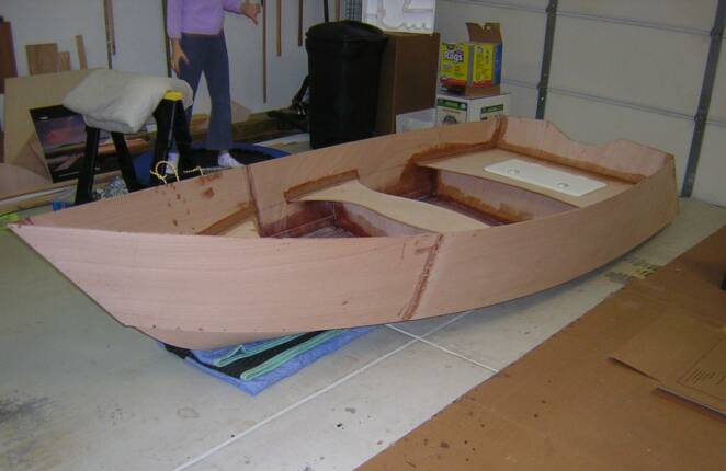 Veronica: Information Plywood skiff construction