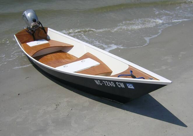 Goes boat: Stitch and glue solo canoe plans